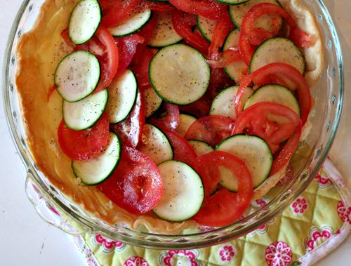 Tomato-zucchini