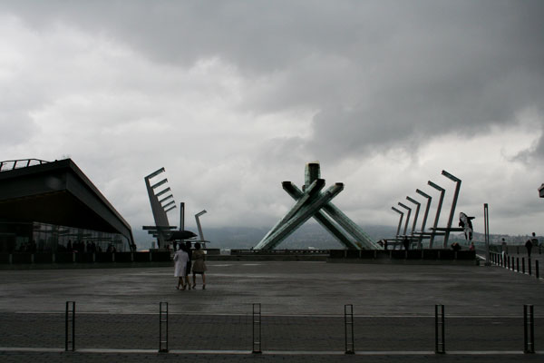 Olympic-flame-holder-thingy