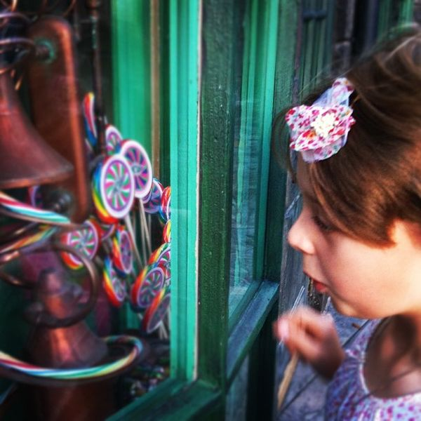 Claire and honeydukes