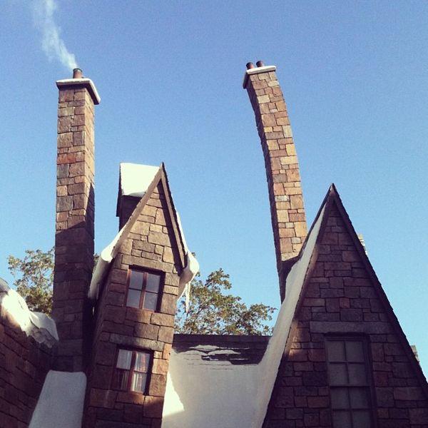Hogsmeade architecture