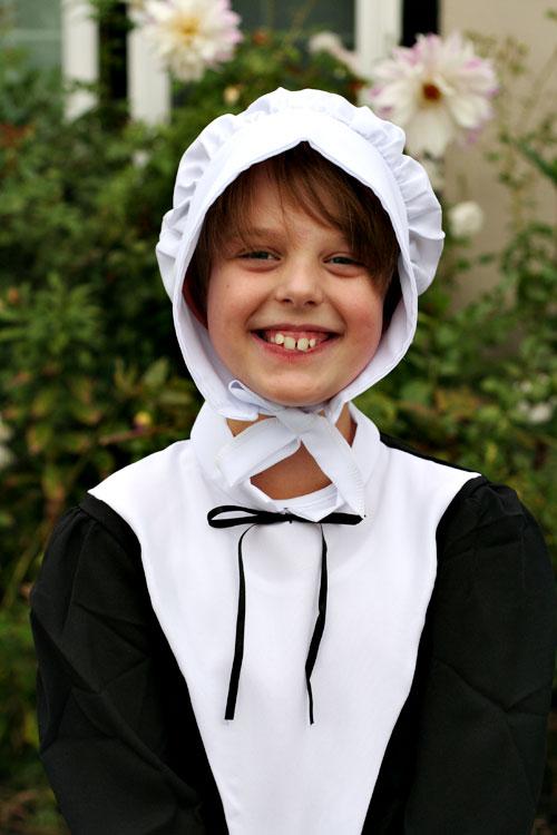 Pilgrim-girl