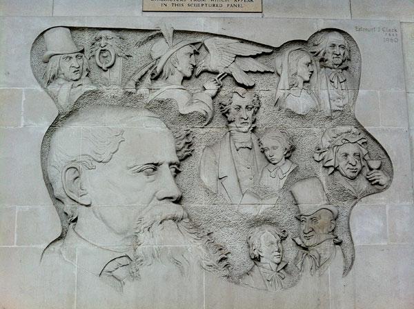 Dickens-mural