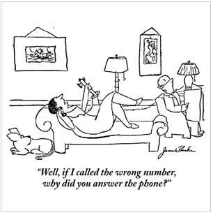 Thurber-wrong-number