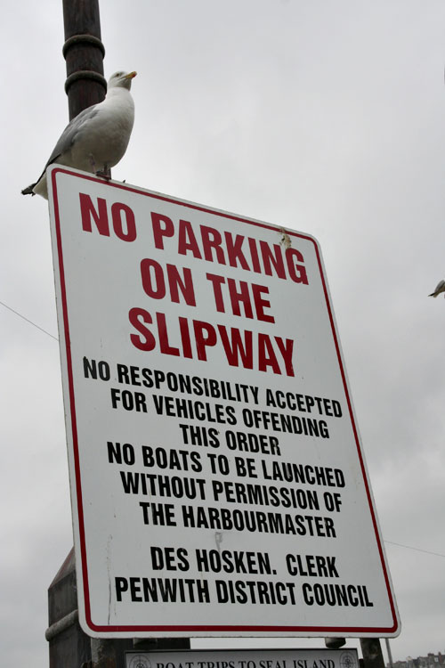No-parking-on-the-slipway