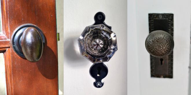 Suziebeezieland laundry room doorknobs